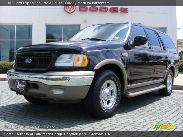 black 2002 ford expedition eddie bauer medium parchment interior vehicle. Black Bedroom Furniture Sets. Home Design Ideas
