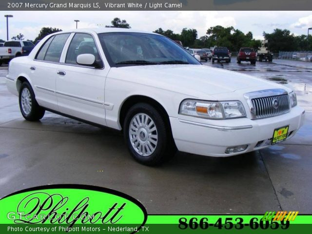 vibrant white 2007 mercury grand marquis ls light. Black Bedroom Furniture Sets. Home Design Ideas