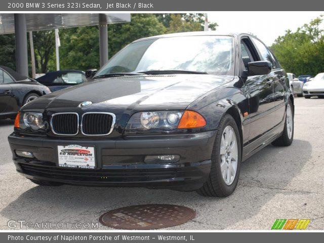 2000 BMW 3 Series 323i Sedan in Jet Black