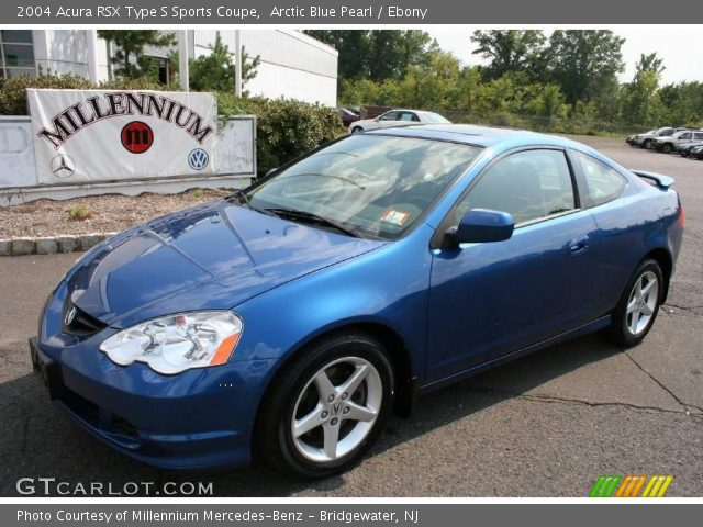 arctic blue pearl 2004 acura rsx type s sports coupe ebony interior vehicle. Black Bedroom Furniture Sets. Home Design Ideas