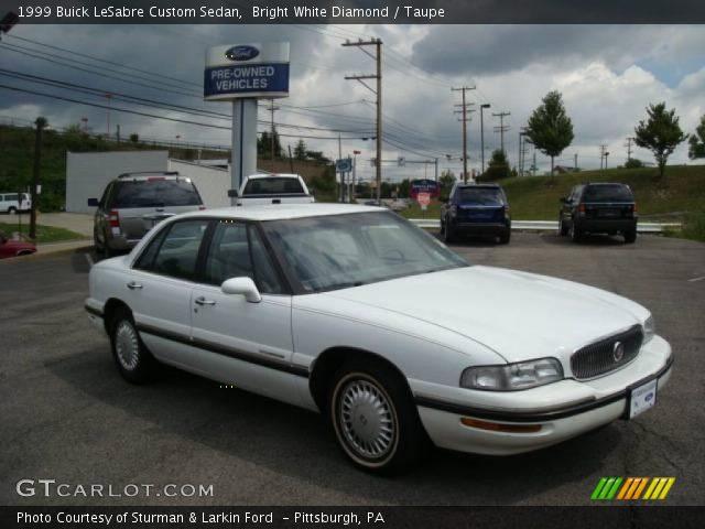 on 1999 Buick Lesabre Custom