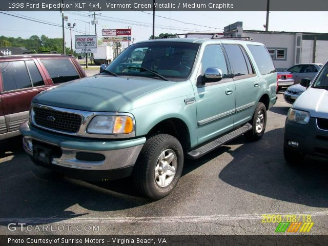 vermont green metallic 1998 ford expedition xlt 4x4. Black Bedroom Furniture Sets. Home Design Ideas