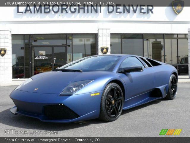 2009 Lamborghini Murcielago LP640 Coupe in Matte Blue