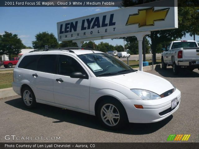 cloud 9 white 2001 ford focus se wagon medium pebble interior vehicle. Black Bedroom Furniture Sets. Home Design Ideas