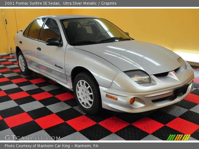 2001 Pontiac Sunfire SE Sedan in Ultra Silver Metallic. Click to see ...