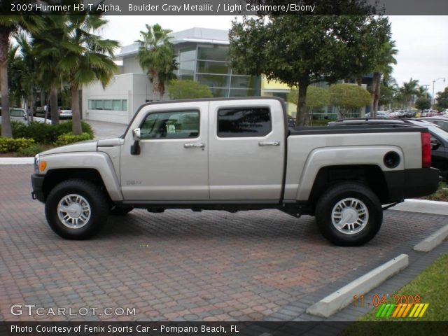 2009 Hummer H3 T Alpha in Boulder Gray Metallic
