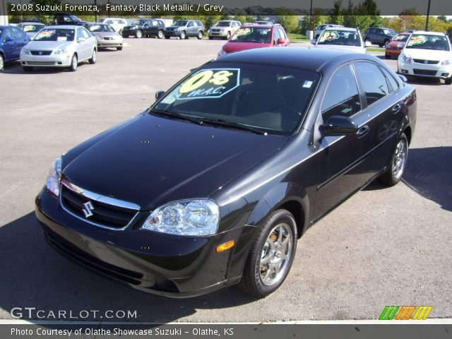 2008 Suzuki Forenza  in Fantasy Black Metallic