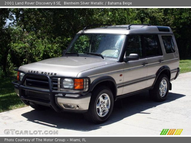 Blenheim Silver Metallic 2001 Land Rover Discovery Ii Se Bahama Beige Interior Gtcarlot