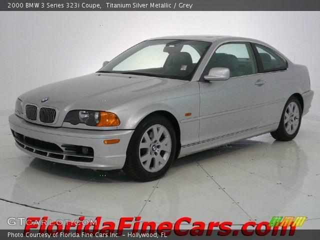 2000 BMW 3 Series 323i Coupe in Titanium Silver Metallic