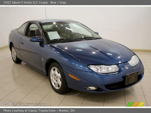 blue 2002 saturn s series sc2 coupe gray interior vehicle archive 16579452. Black Bedroom Furniture Sets. Home Design Ideas