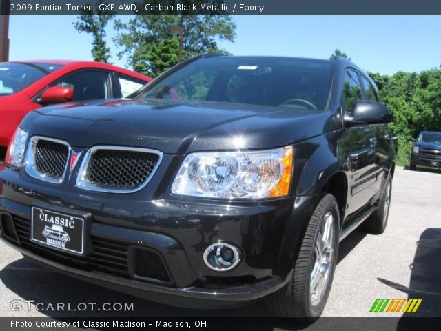 2009 Pontiac Torrent GXP AWD in Carbon Black Metallic