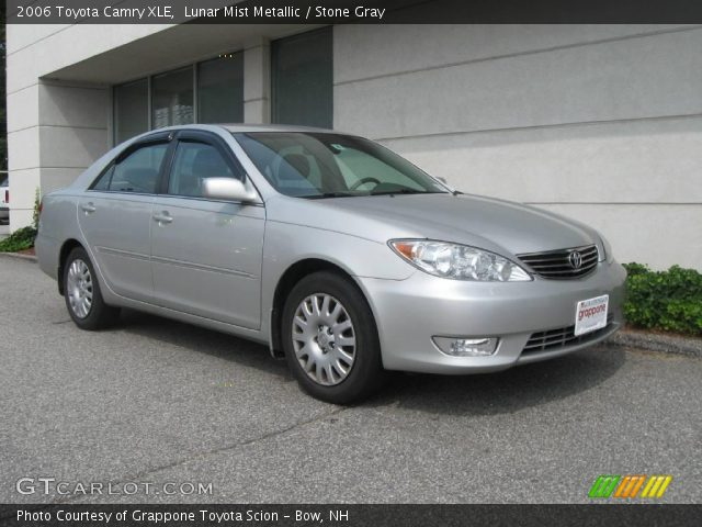 lunar mist metallic 2006 toyota camry xle stone gray interior vehicle. Black Bedroom Furniture Sets. Home Design Ideas
