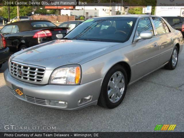 Light Platinum 2004 Cadillac Deville Dts Black Interior Vehicle Archive