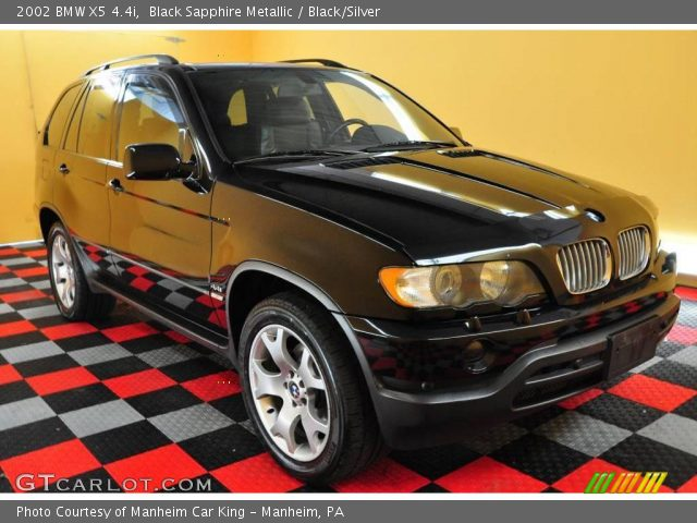 black sapphire metallic 2002 bmw x5 black silver. Black Bedroom Furniture Sets. Home Design Ideas