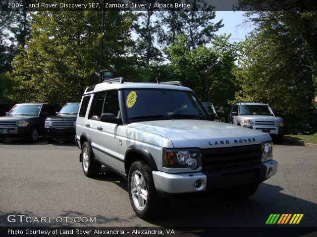 zambezi silver 2004 land rover discovery se7 alpaca beige interior vehicle. Black Bedroom Furniture Sets. Home Design Ideas