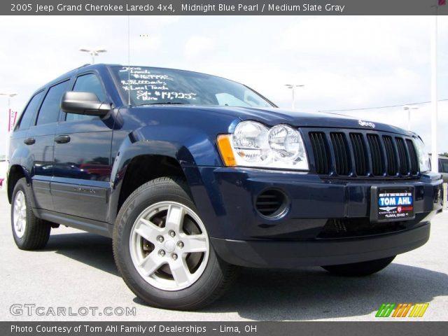 Midnight blue pearl 2005 jeep grand cherokee laredo 4x4 - 2005 jeep grand cherokee laredo interior ...