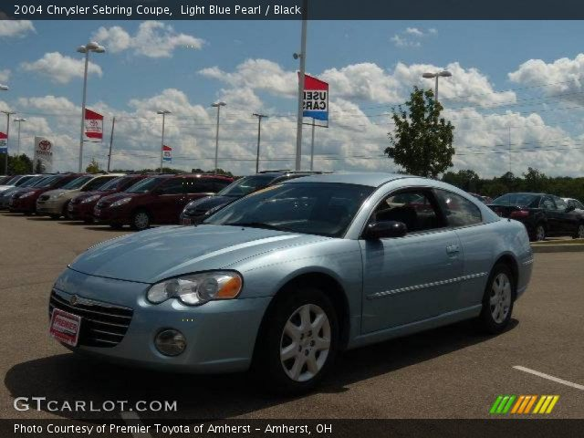 2004 Chrysler Sebring Coupe in Light Blue Pearl. Click to see large ...