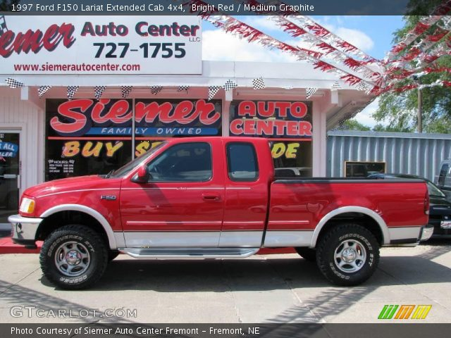 bright red 1997 ford f150 lariat extended cab 4x4. Black Bedroom Furniture Sets. Home Design Ideas