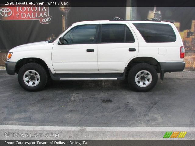 White 1998 Toyota 4runner Oak Interior Vehicle Archive 1700546
