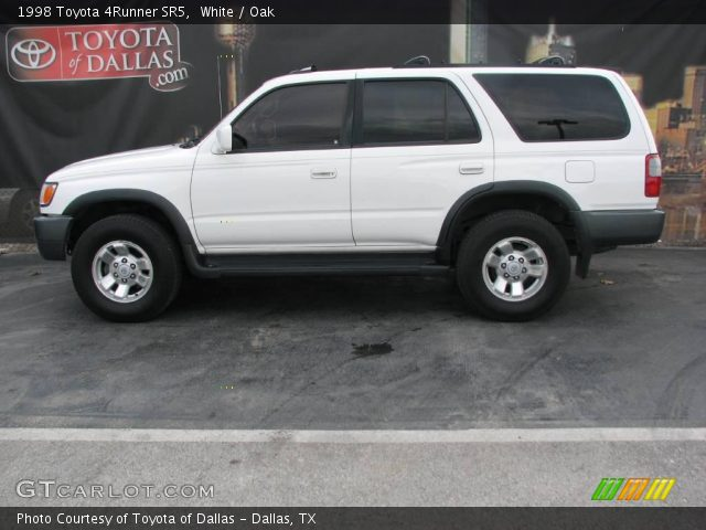 White 1998 Toyota 4runner Sr5 Oak Interior Vehicle Archive 1700547