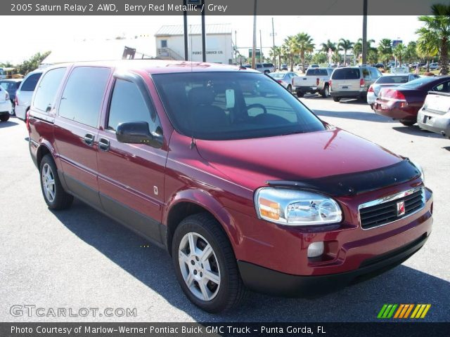 berry red metallic 2005 saturn relay 2 awd grey. Black Bedroom Furniture Sets. Home Design Ideas