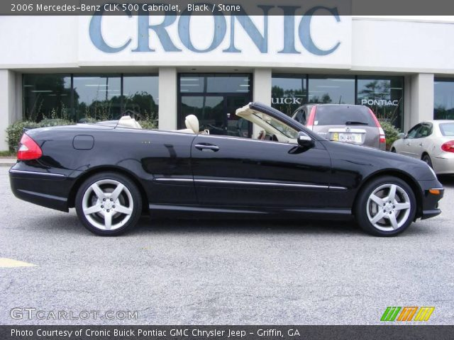 Black 2006 mercedes benz clk 500 cabriolet stone for 2006 mercedes benz clk 500