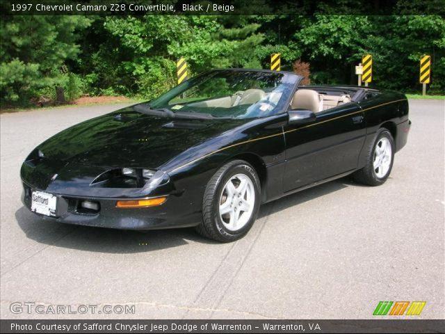 1997 Camaro Z28 Convertible