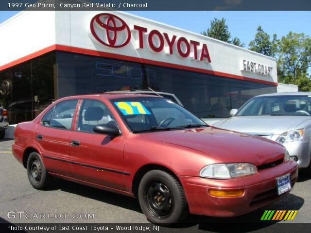 1997 Geo Prizm  in Canyon Red Metallic