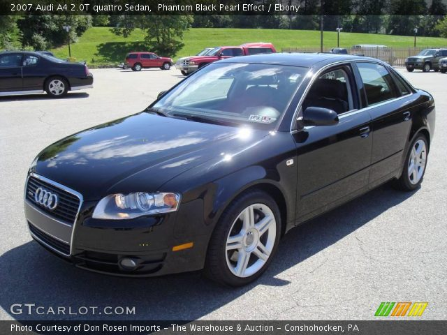 phantom black pearl effect 2007 audi a4 2 0t quattro. Black Bedroom Furniture Sets. Home Design Ideas