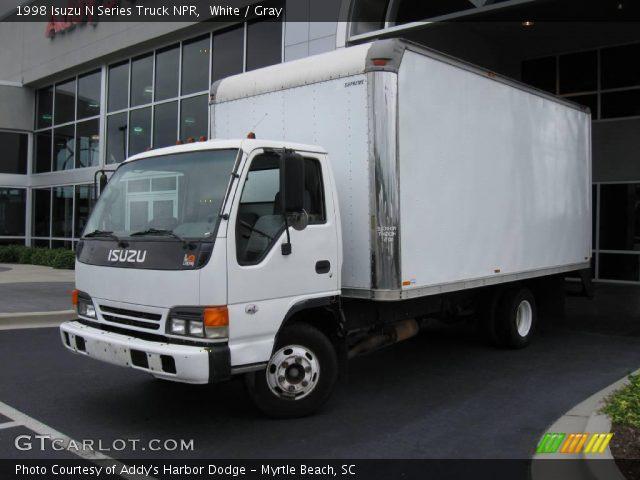 1998 Isuzu N Series Truck NPR in White