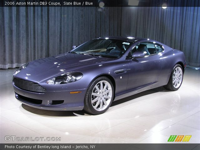 Slate Blue - 2006 Aston Martin DB9 Coupe - Blue Interior ...