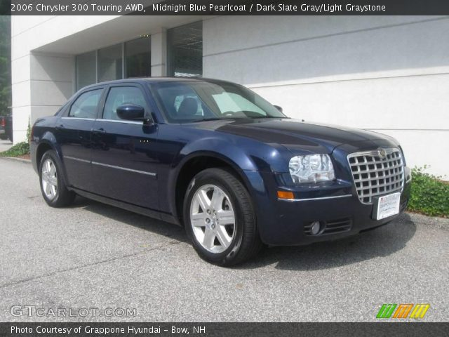 midnight blue pearlcoat 2006 chrysler 300 touring awd. Black Bedroom Furniture Sets. Home Design Ideas