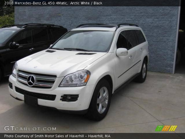 Arctic white 2008 mercedes benz gl 450 4matic black for 2008 mercedes benz gl450 4matic