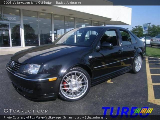 black 2005 volkswagen jetta gli sedan anthracite. Black Bedroom Furniture Sets. Home Design Ideas