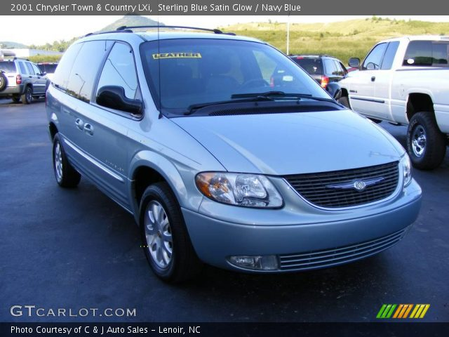 Sterling blue satin glow 2001 chrysler town country - 2001 chrysler town and country interior ...