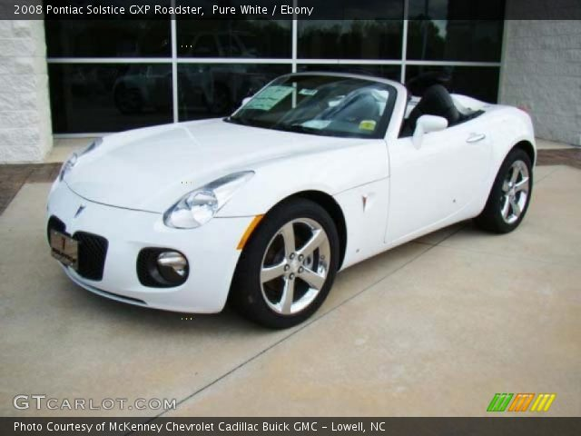 2008 pontiac solstice gxp roadster in pure white click to. Black Bedroom Furniture Sets. Home Design Ideas