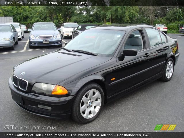 jet black 1999 bmw 3 series 323i sedan grey interior. Black Bedroom Furniture Sets. Home Design Ideas