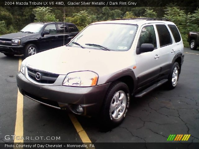 glacier silver metallic 2004 mazda tribute lx v6 4wd. Black Bedroom Furniture Sets. Home Design Ideas
