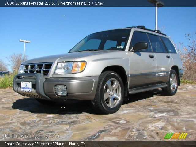 silverthorn metallic 2000 subaru forester 2 5 s gray. Black Bedroom Furniture Sets. Home Design Ideas