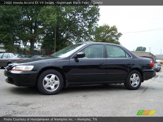 Nighthawk Black Pearl - 2000 Honda Accord EX V6 Sedan ...