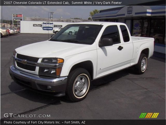 summit white 2007 chevrolet colorado lt extended cab. Black Bedroom Furniture Sets. Home Design Ideas