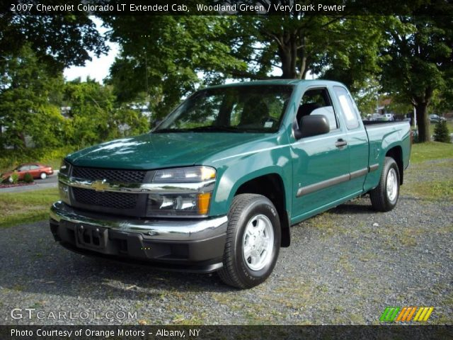 woodland green 2007 chevrolet colorado lt extended cab. Black Bedroom Furniture Sets. Home Design Ideas
