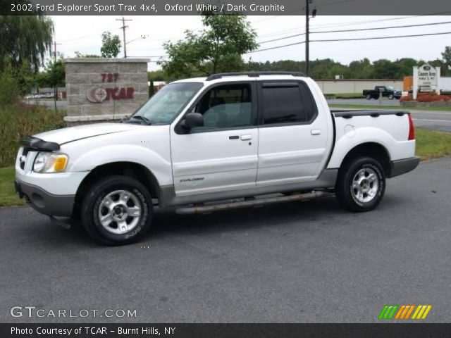 2002 ford explorer sport trac 4x4 in oxford white click to see large. Cars Review. Best American Auto & Cars Review