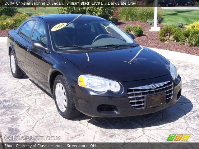 brilliant black crystal 2004 chrysler sebring lx sedan. Black Bedroom Furniture Sets. Home Design Ideas