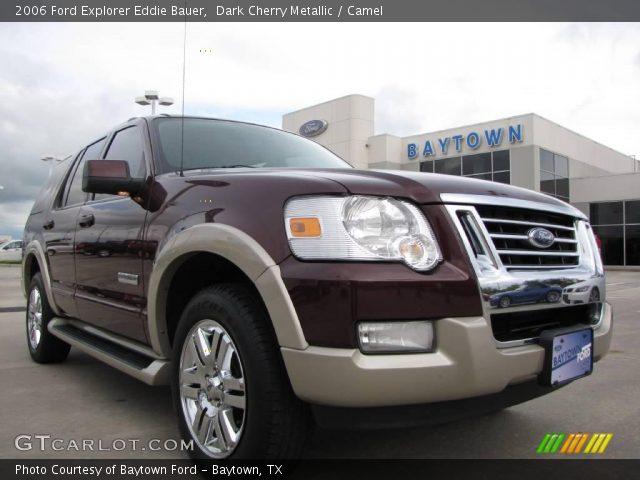 dark cherry metallic 2006 ford explorer eddie bauer