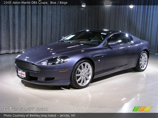 Blue - 2005 Aston Martin DB9 Coupe - Beige Interior ...