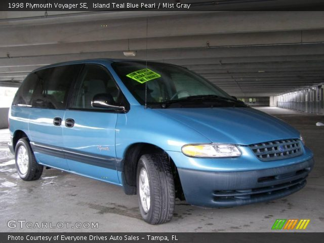 island teal blue pearl 1998 plymouth voyager se mist gray interior gtcarlot com vehicle archive 17969652 gtcarlot com