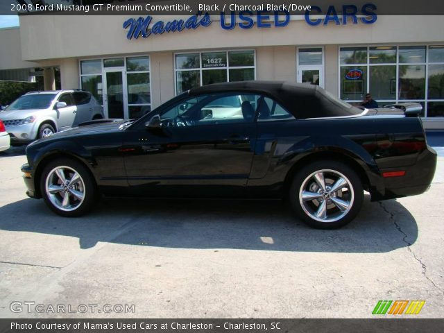 black 2008 ford mustang gt premium convertible. Black Bedroom Furniture Sets. Home Design Ideas
