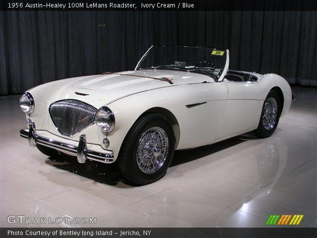1956 Austin-Healey 100M LeMans Roadster in Ivory Cream