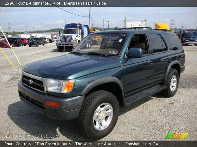 evergreen pearl 1996 toyota 4runner sr5 4x4 beige. Black Bedroom Furniture Sets. Home Design Ideas